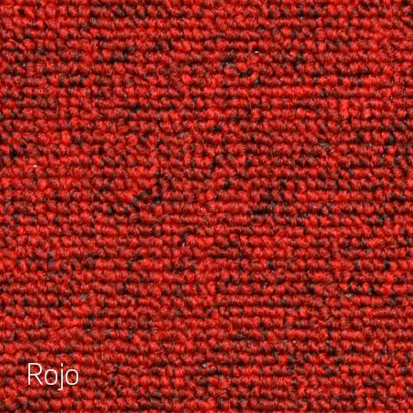 Alfombras Boucle Alfa-rojo