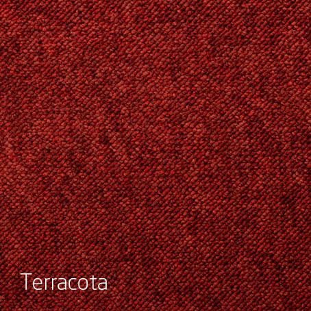 Alfombras Boucle Texas-terracota